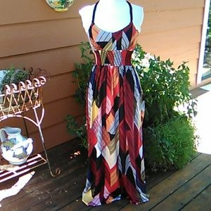 Takara Maxi Dress with Beautiful Back